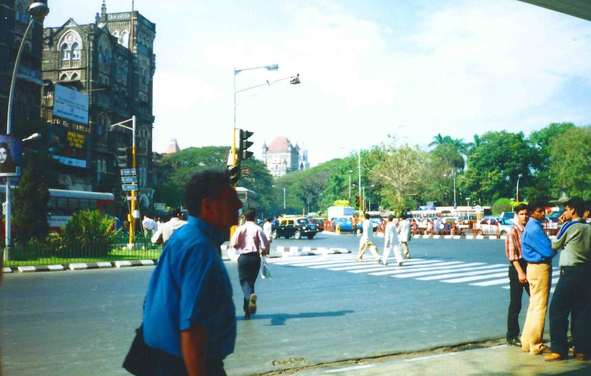Mumbai streets.