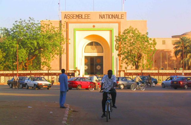 Government building in Niamey.