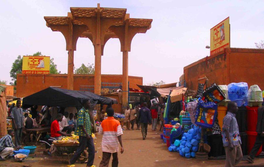 Niamey Market.