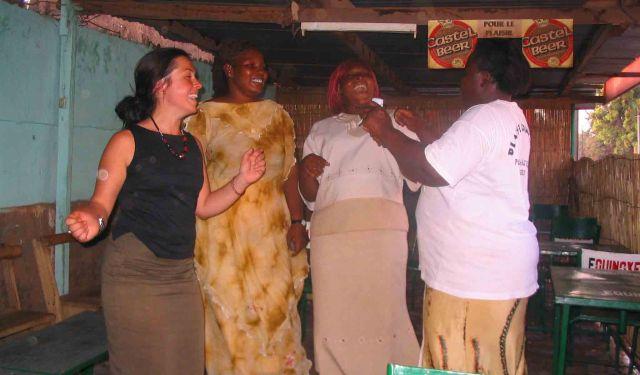 Party time in Ouagadougou.