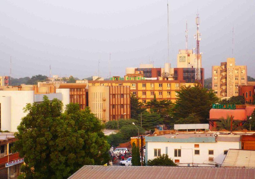 Back in Ouagadougou.