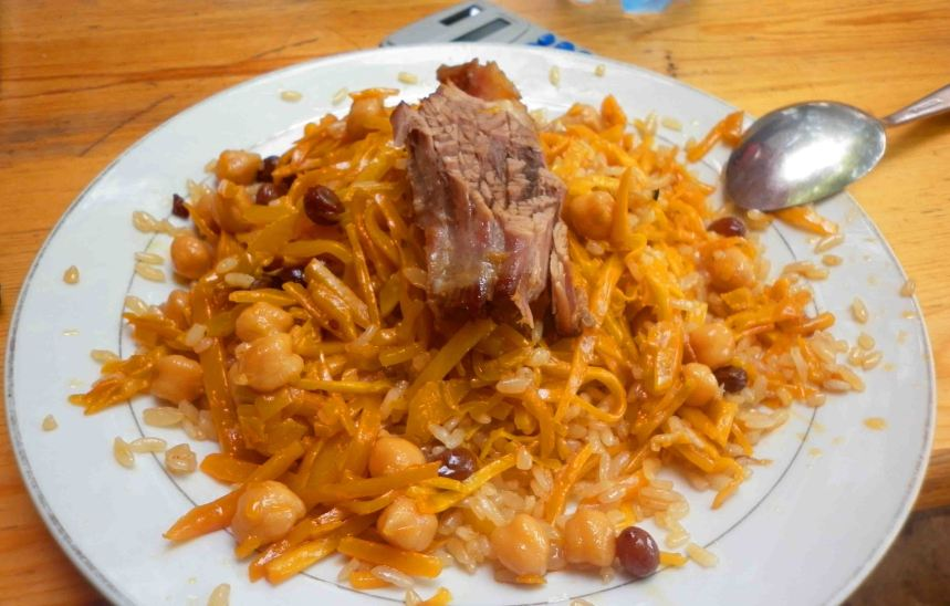A plate of plov!