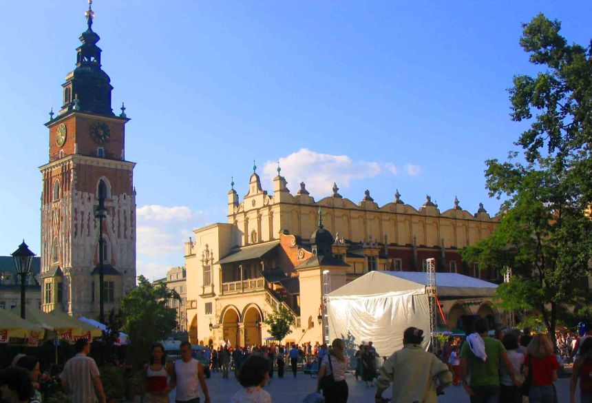 Town Square, Krakow.
