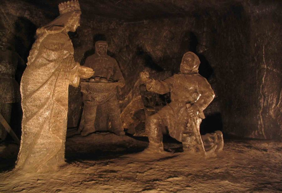 Statues in the Salt Mine