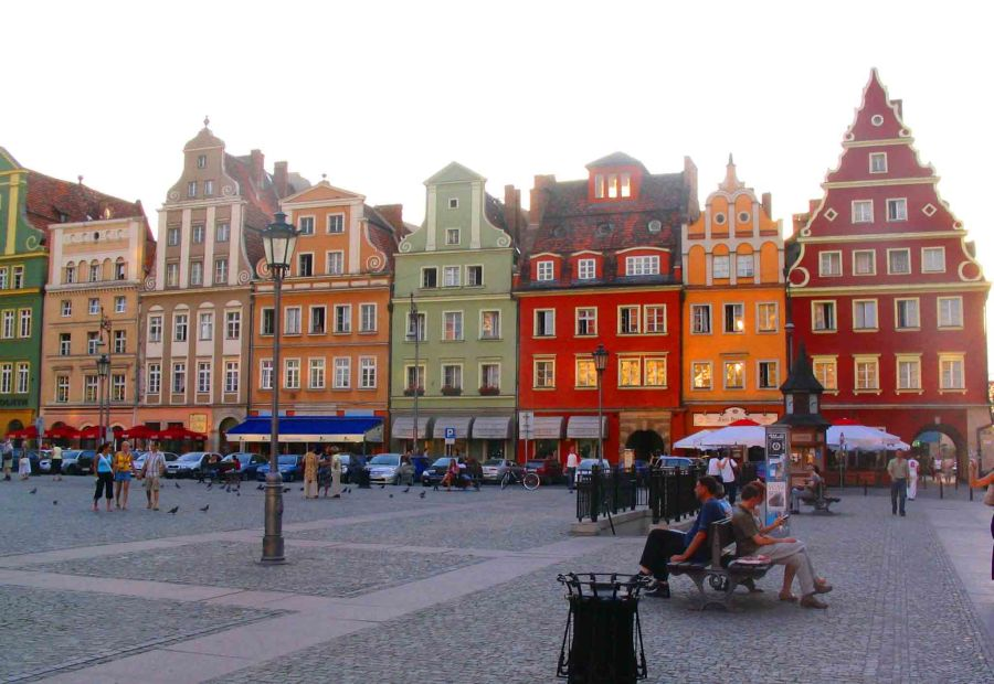 Two Square, Wroclaw.