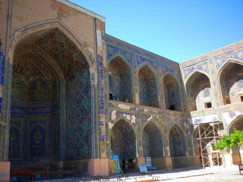 Inside the Sher-Dor Madrassah