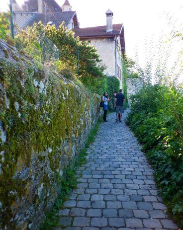 Gorgeous little cobble stone path, Yvoire.
