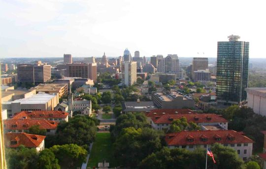 The city of Austin.