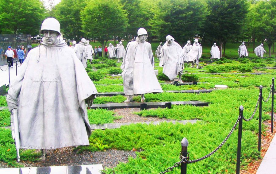 Korean War Monument.