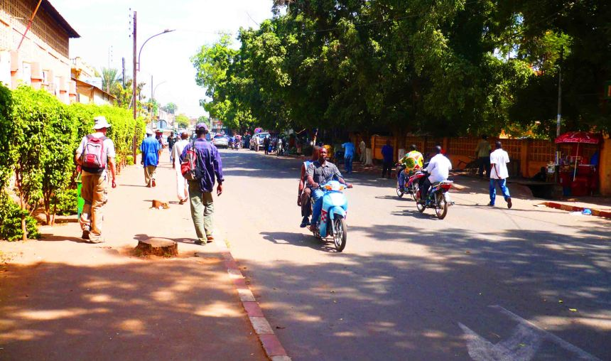 Streets of the Bamako.