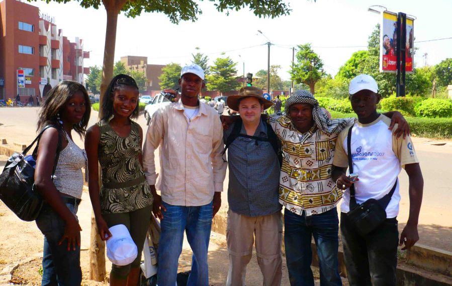 New friends, Ouagadougou