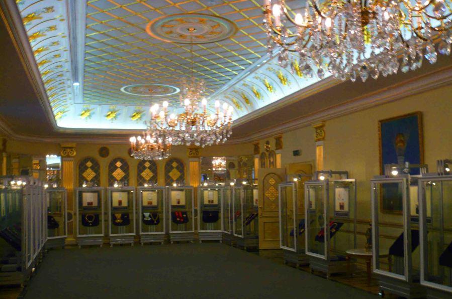 Inside the President's Museum, Astana