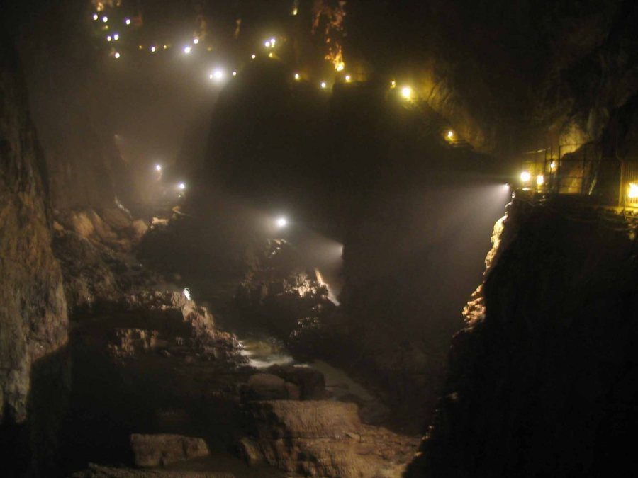 The amazing caves are there to explore!