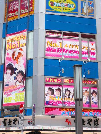 Akihabara Maid Cafe.