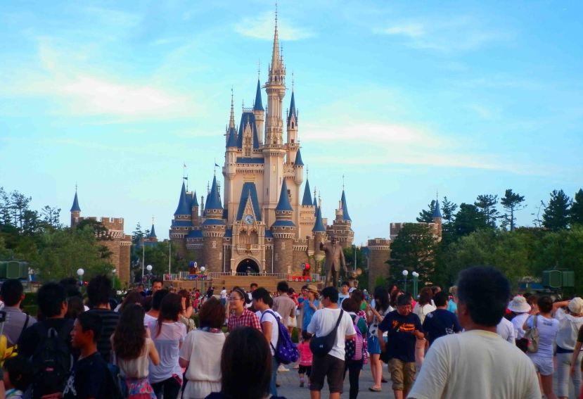 It's Tokyo Disneyland!