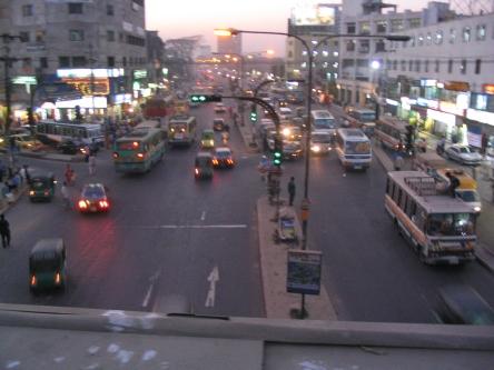 Dhaka street.