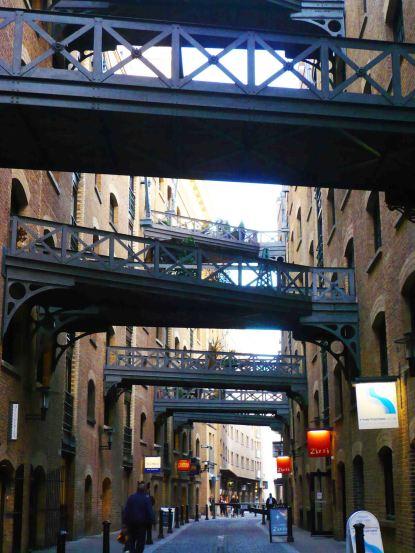 Alleys of Butler's Wharf, modern day (well, 2007)