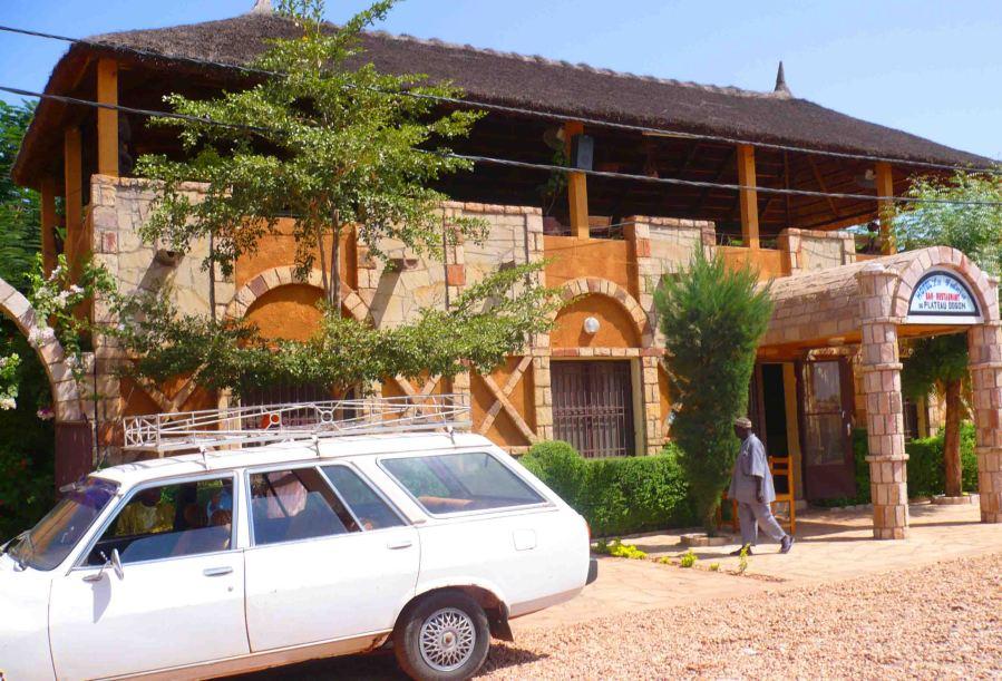 Hotel in Bandiagara.