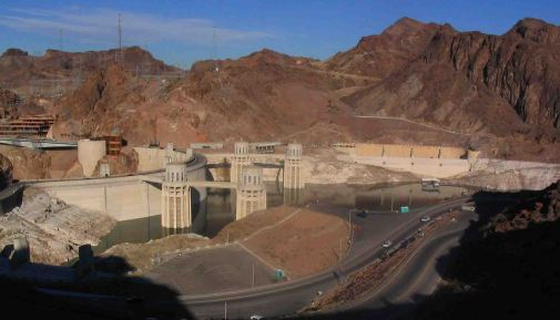 Hoover Dam on the Grand Canyon Tour.