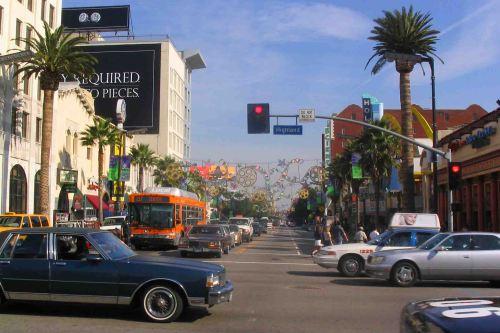Busy Hollywood.