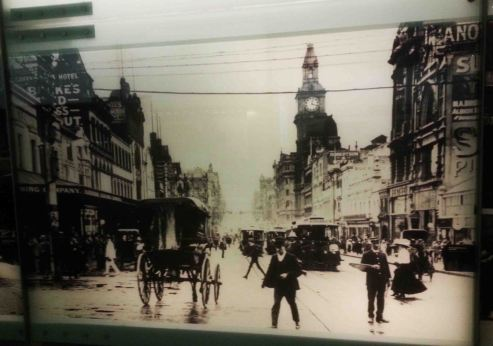 Melbourne back in the day