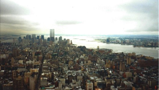 New York City from the Empire State Building, 1999.