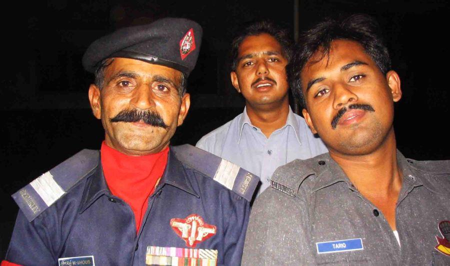 pakistan security guards