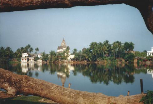 Puthia temples.