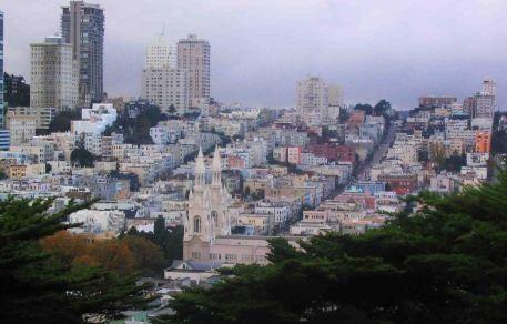 San Francisco - it's not flat!