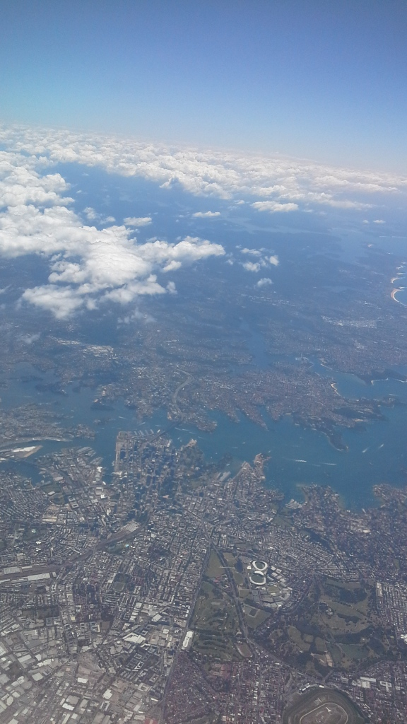 A last view of Sydney