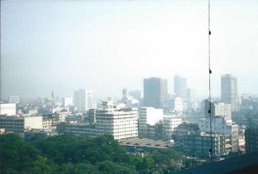 Buildings of Dhaka.