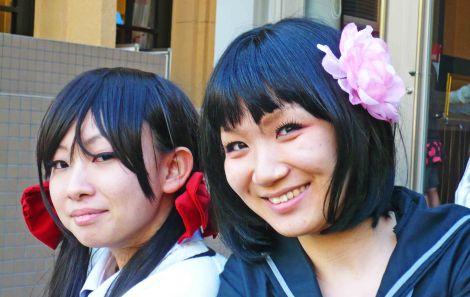 manga girls kyoto