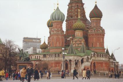 St Basil's Cathedral, Red Square.