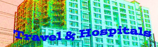 travel and hospitals banner copy