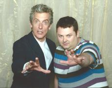 It's Peter Capaldi, and me!