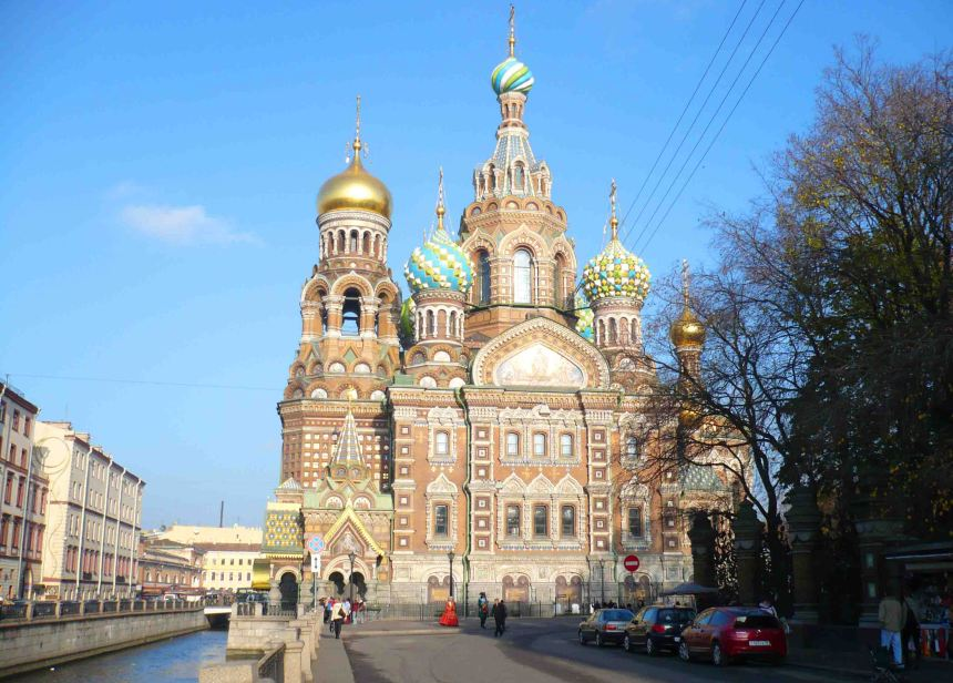 church saviour of spilled blood