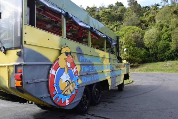 Duck Tours Vehicle.