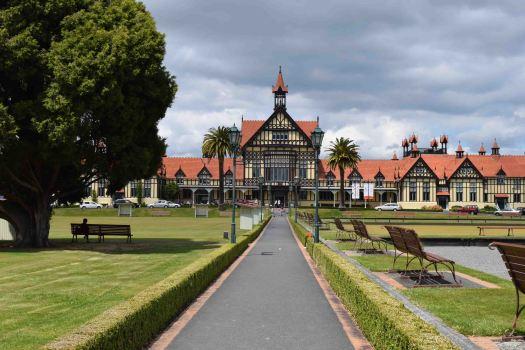 The Rotorua Museum.