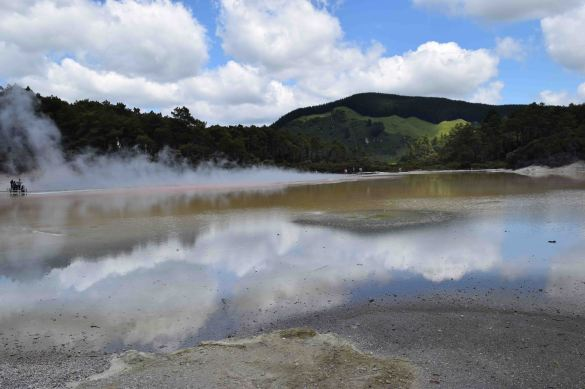 The amazing Geothermal lakes.