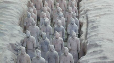 army of terracotta warriors 1
