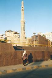 A minaret in Alexandria.