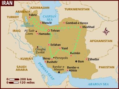 iran itinerary 2