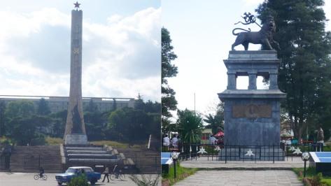 Monuments aplenty in Addis.