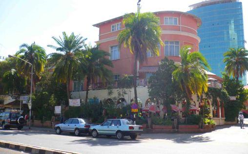 The Ras Hotel Exterior.