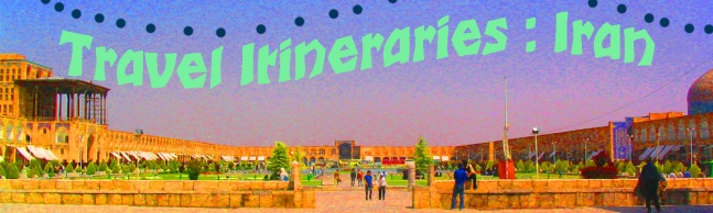travel itineraries banner iran