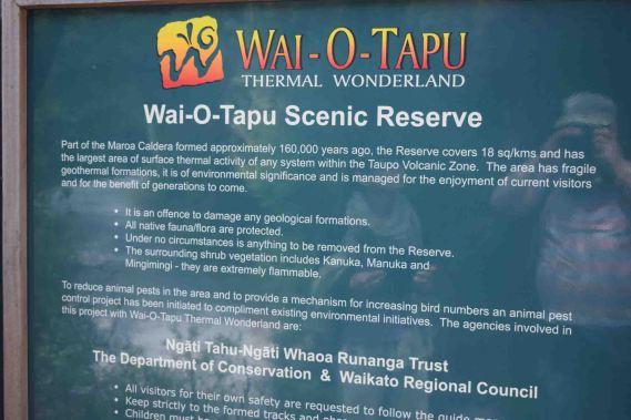 waiotapu description