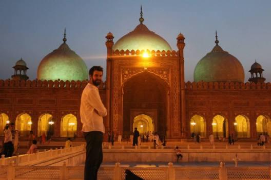 At Badshahi Mosque, Lahore