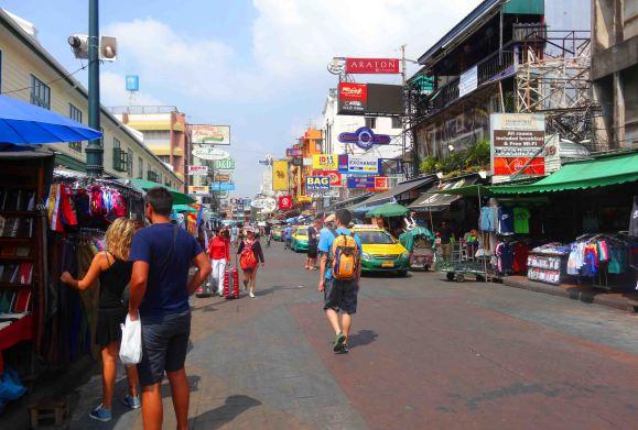 Modern Khao San Road.