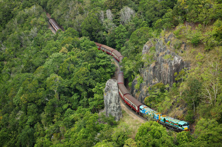 Kuranda Railway near Cairns, From Cairns Holiday Specialists.