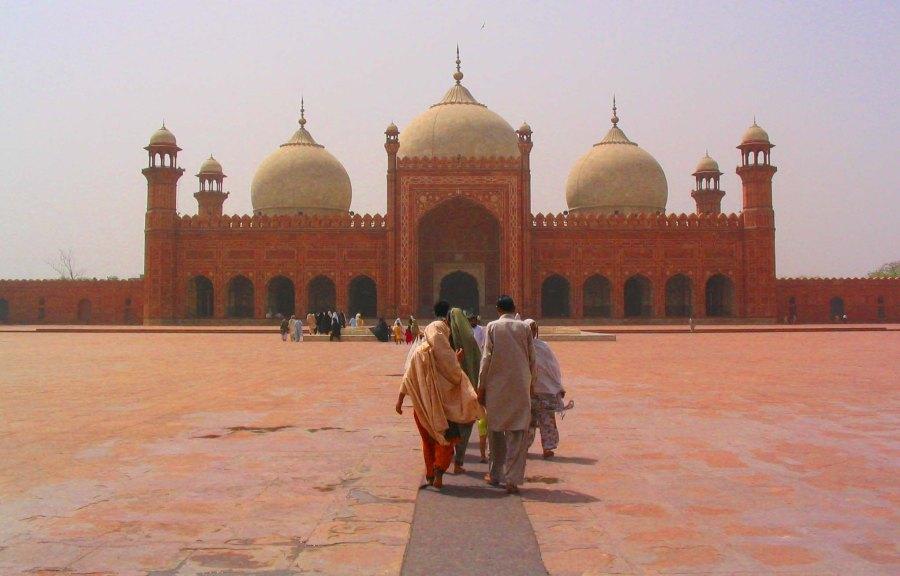 Badshahi Mosque.
